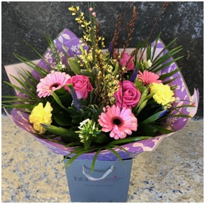 Pink Passion Hand Tied