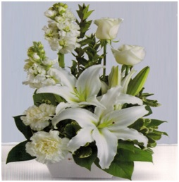 White Mixed Arrangement
