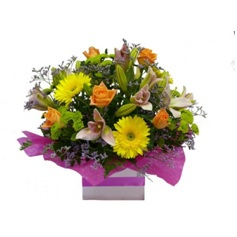 Bright Posy Box