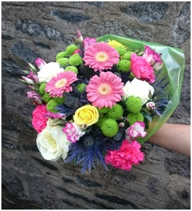 Vivid Hand Tied Bunch