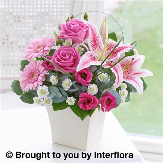Pink Exquisite Arrangement