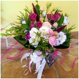 Fish Bowl Arrangement (Florist Choice)