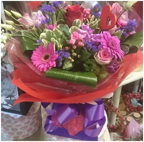 Seasonal Mixed Hand Tied Bouquet (Florist Choice)