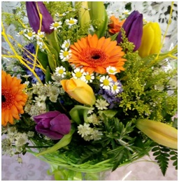 Vibrant Mixed Hand Tied Bouquet (Florist Choice)