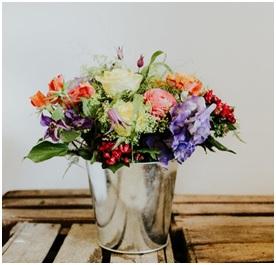 Bold Tin Pot (Florist Choice)