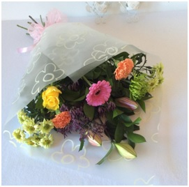 Gift Wrapped Bouquet (Florist Choice) from