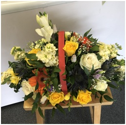 Funeral Basket (Contact Florist to Discuss...)
