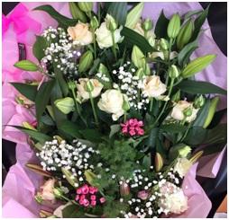 Flat Bouquet Mix (Florist Choice)