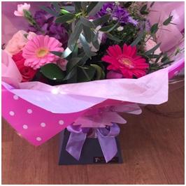 Pink, Red and Purple Aqua (Florist Choice)