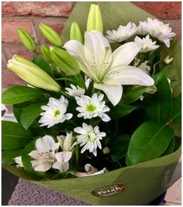 White Bouquet (Lilies)