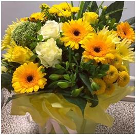 Yellow Mixed Arrangement (Florist Choice)