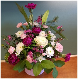 Pink and White Arrangement (Florist Choice)