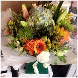 Large Aqua Box (Florist Choice)