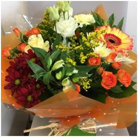 Hot Mixed BQ (Florist Choice)