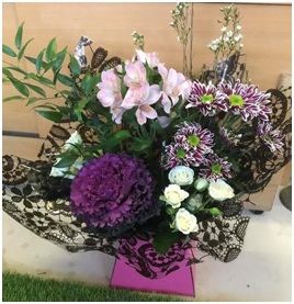Pink Hand Tied (Florist Choice)