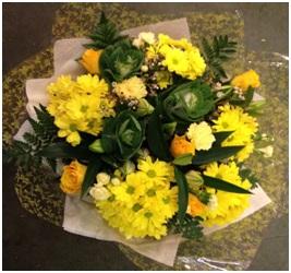 Yellow Mixed Bouquet (Florist Choice)