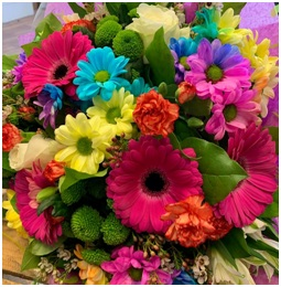Over the Rainbow Bouquet (Florist Choice)