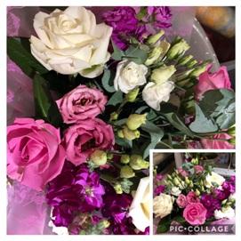 Get Well Pink Mixed Bouquet (Florist Choice)
