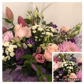 Soft Coloured Mixed Bouquet (Florist Choice)
