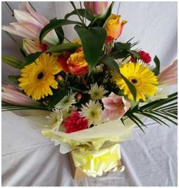 Celebration Aqua Boxed Bouquet (Florist Choice)