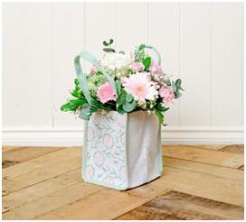 Hessian Bag Arrangement (Florist Choice)