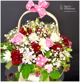 Seasonal Flower Basket (Florist Choice)