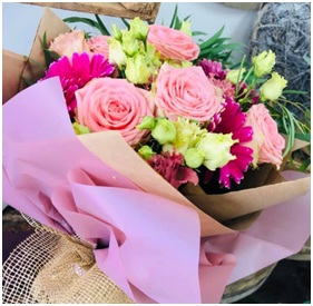 Pink and Lime Mix (Florist Choice)
