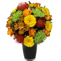 Vivid Autumn Bouquet
