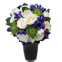 Rose and Iris Bouquet